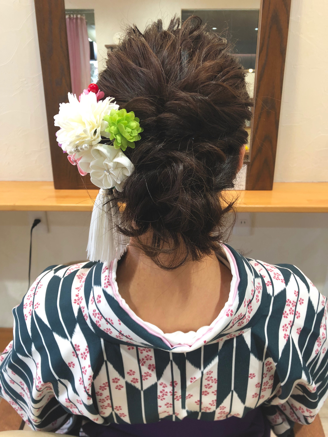 ヘアアレンジ ボブ 卒業式 ナチュラル ヘアスタイルや髪型の写真・画像 | tomohiko/石川県 cherche / cherche シェルシェ