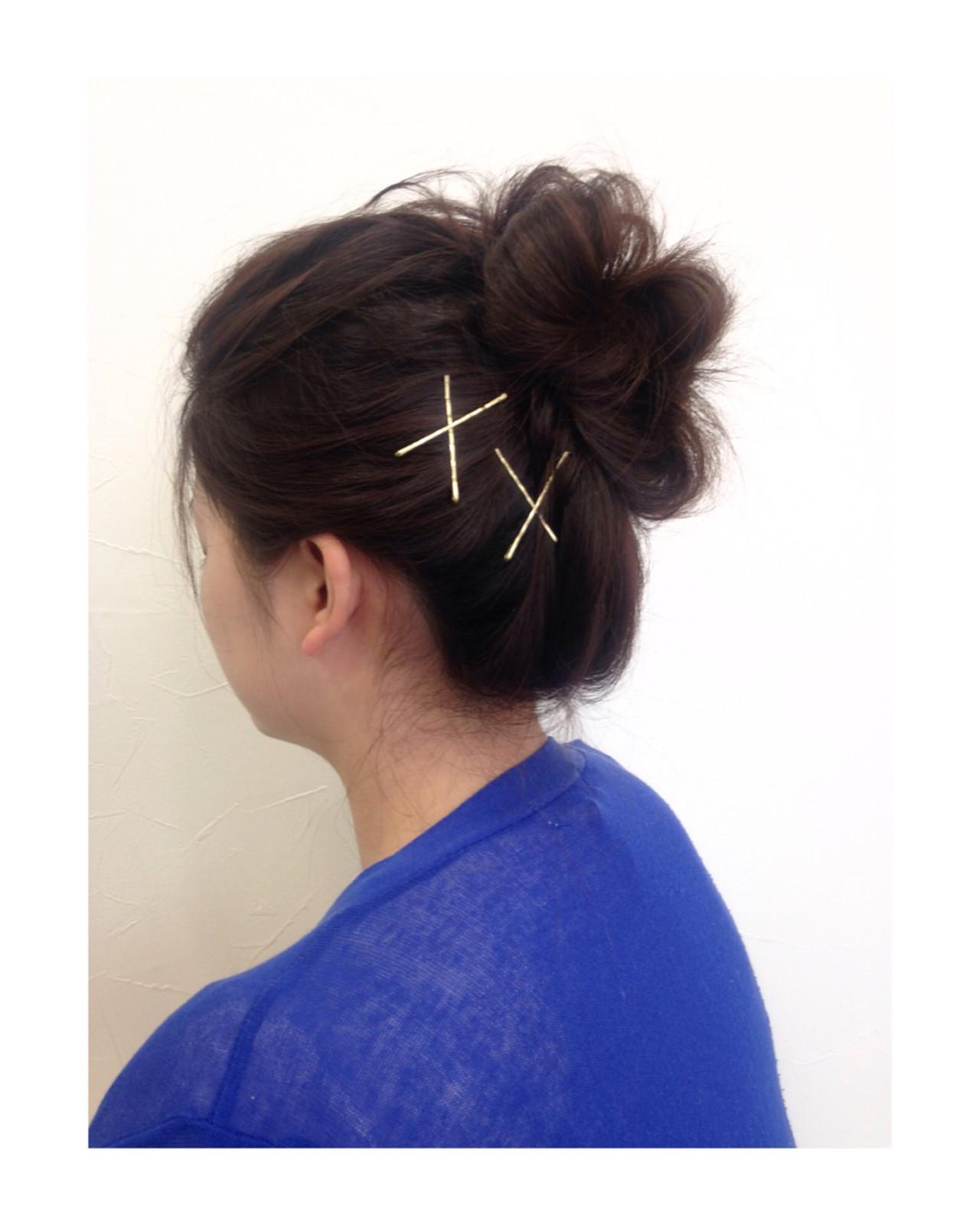 グレージュ ロング ヘアアレンジ ショート ヘアスタイルや髪型の写真・画像 | 呉比 祐幾 / PLUSCARE haru