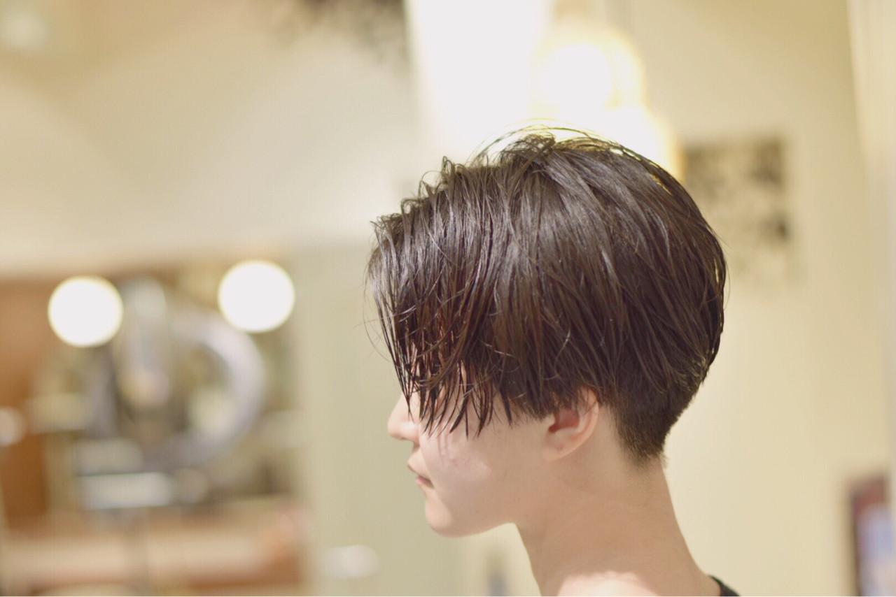 大人女子 モード ジェンダーレス 刈り上げ ヘアスタイルや髪型の写真・画像 | 松村卓人 / OWL hair