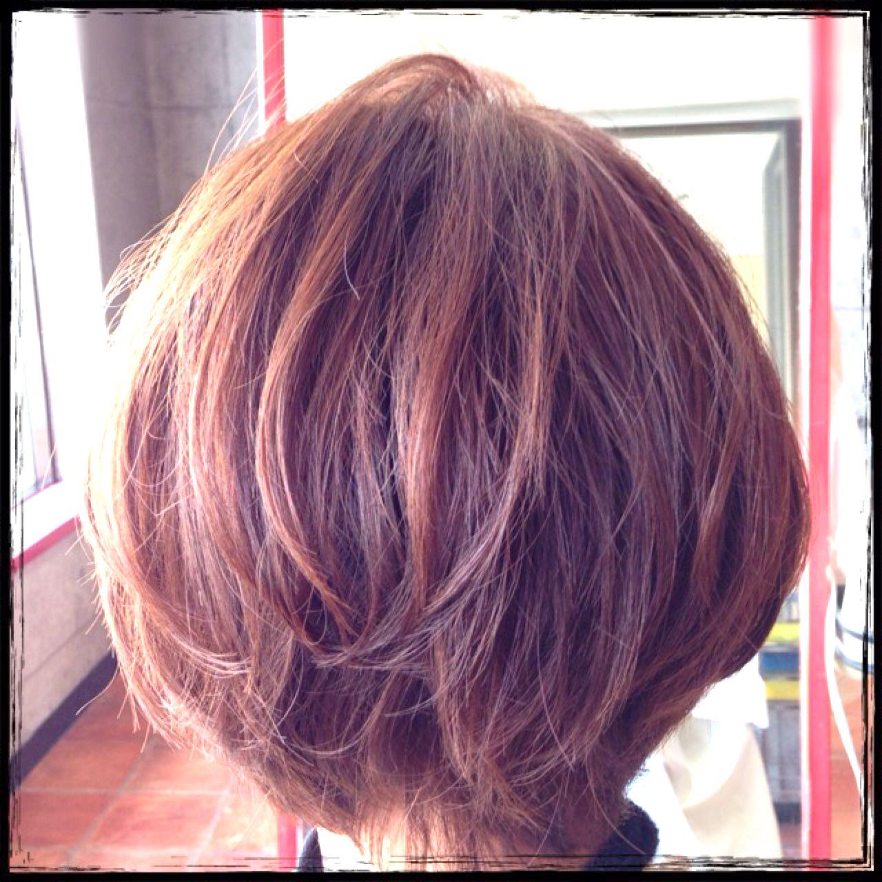 アッシュ ショート モテ髪 愛され ヘアスタイルや髪型の写真・画像 | 荒 貴俊 / hair salon SPARK
