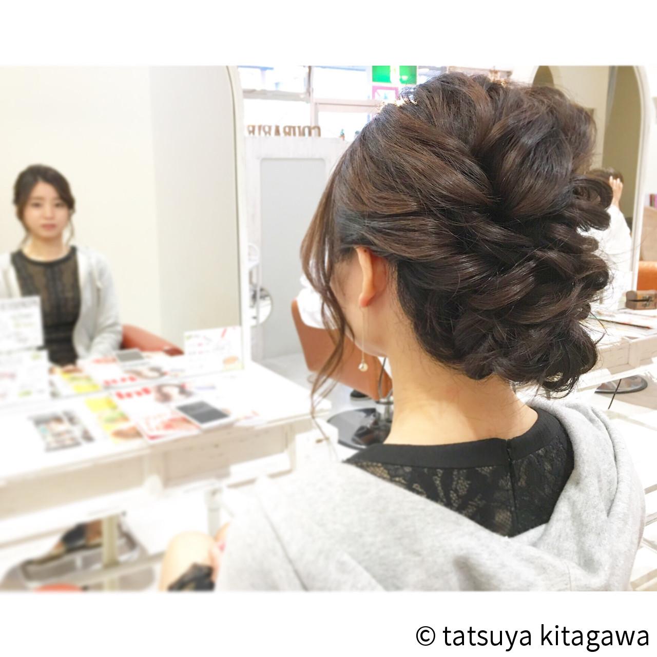 デート エレガント 外国人風 上品 ヘアスタイルや髪型の写真・画像   tatsuya kitagawa / clarity 京都駅前本店