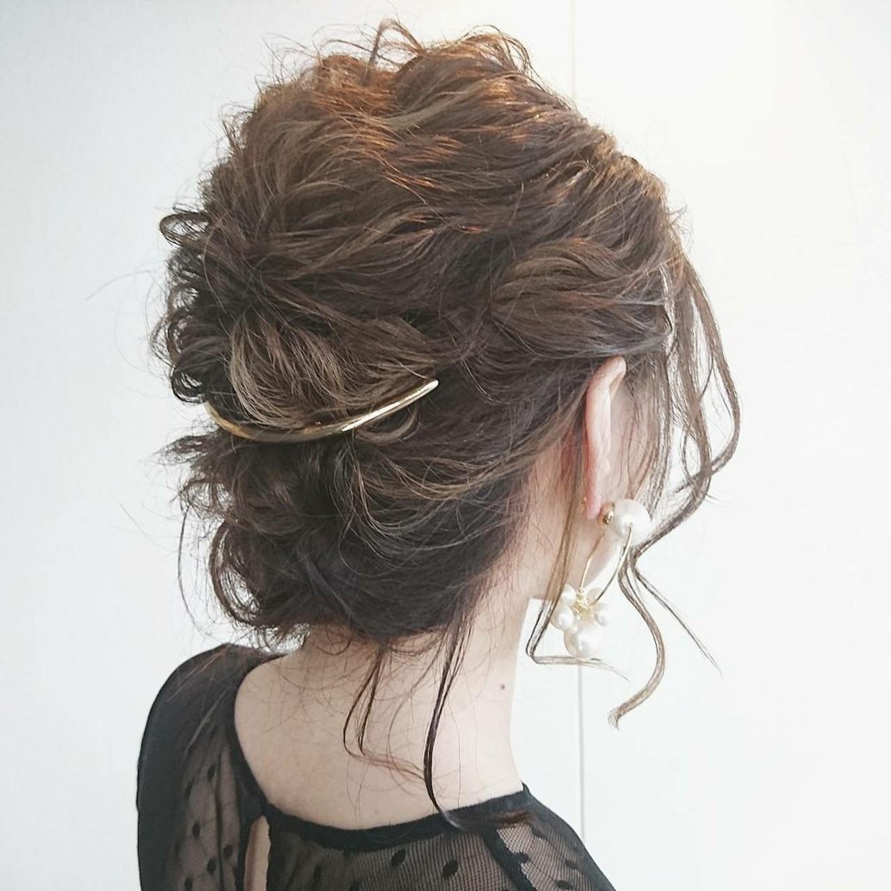 上品 透明感 デート ハイライトヘアスタイルや髪型の写真・画像