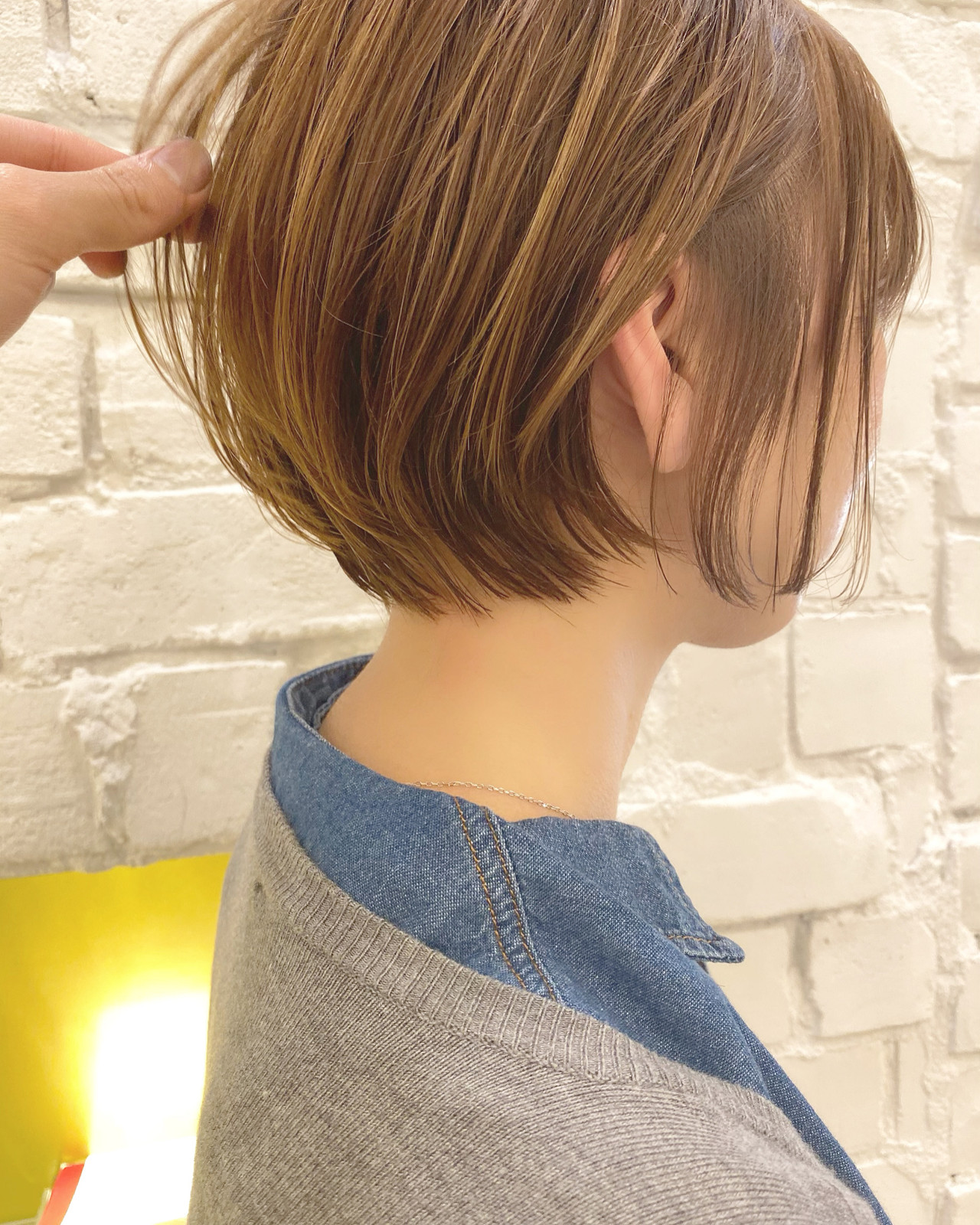 ミニボブ ショートヘア ナチュラル ショート ヘアスタイルや髪型の写真・画像   河村 博之 名古屋 栄 リュドール栄 / リュドール栄