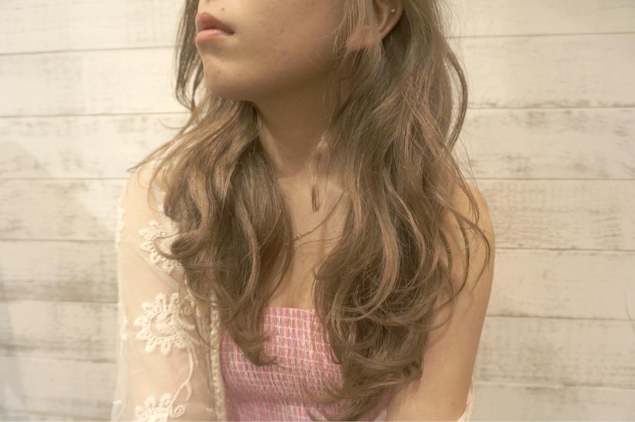 透明感 ヘアオイル 外国人風 外国人風カラー ヘアスタイルや髪型の写真・画像 | MORNING.miya/@1031miya / HAIR MORNING.