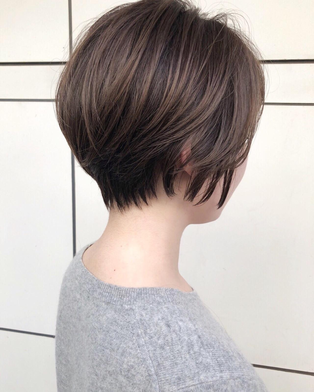 ショート ゆるふわ ハイライト 色気 ヘアスタイルや髪型の写真・画像 | スガ シュンスケ / Tierra (ティエラ)