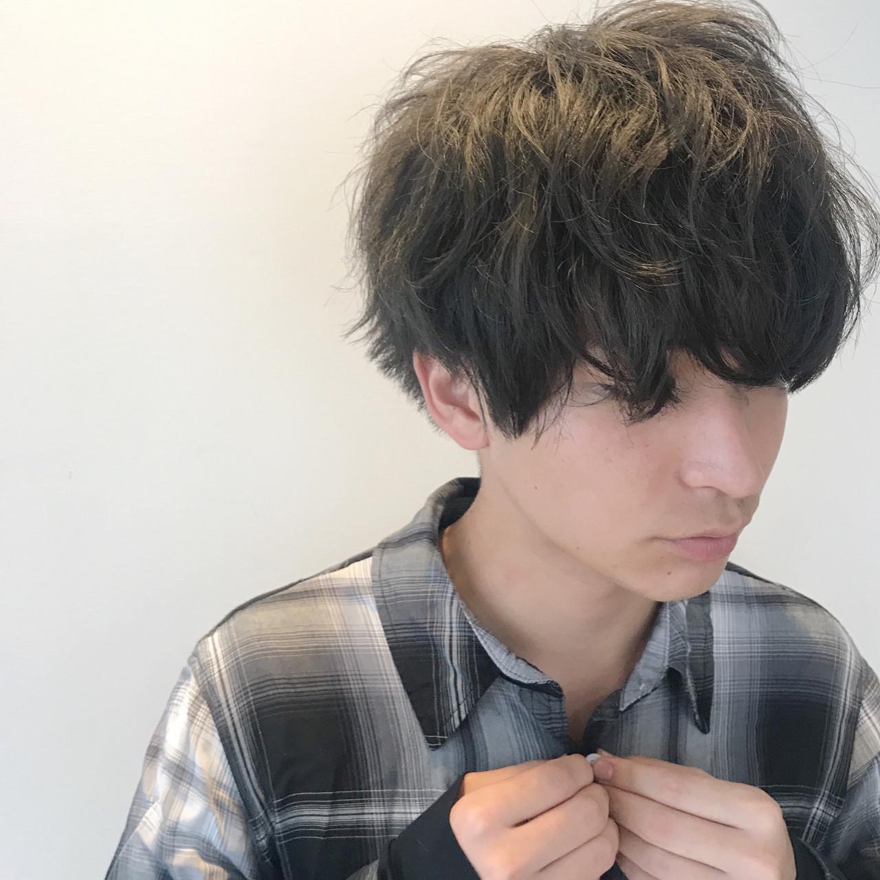 ストリート ショート マッシュ モテ髪ヘアスタイルや髪型の写真・画像