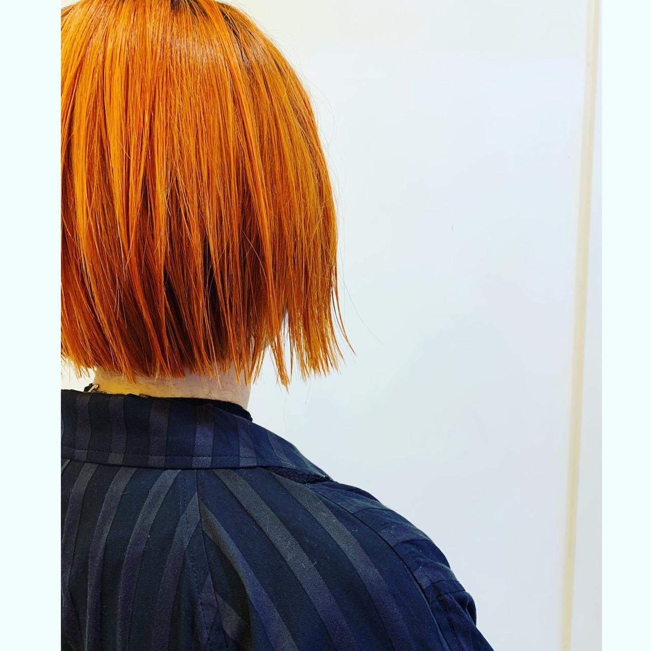 ベリーショート ウルフカット モード ボブヘアスタイルや髪型の写真・画像