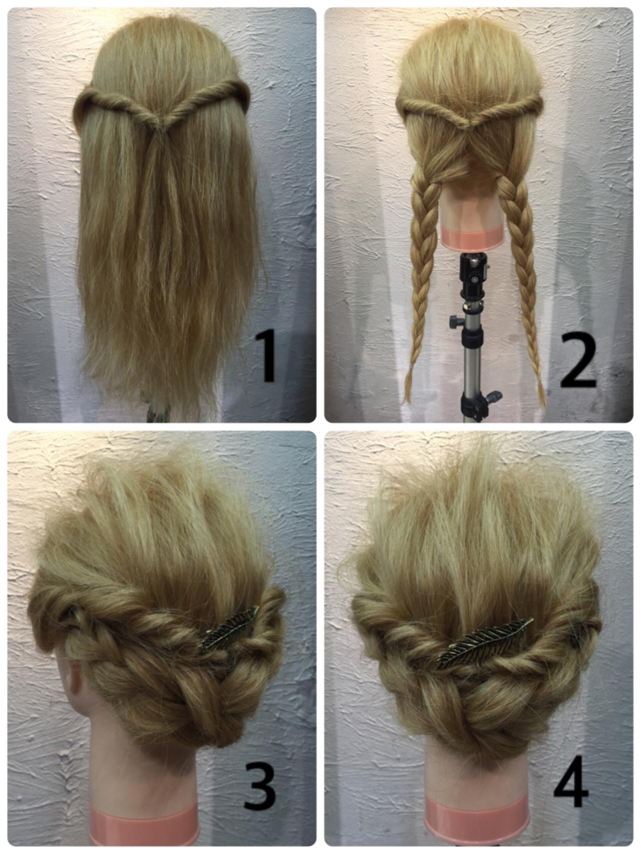 大人かわいい 夏 ヘアアレンジ 簡単ヘアアレンジヘアスタイルや髪型の写真・画像