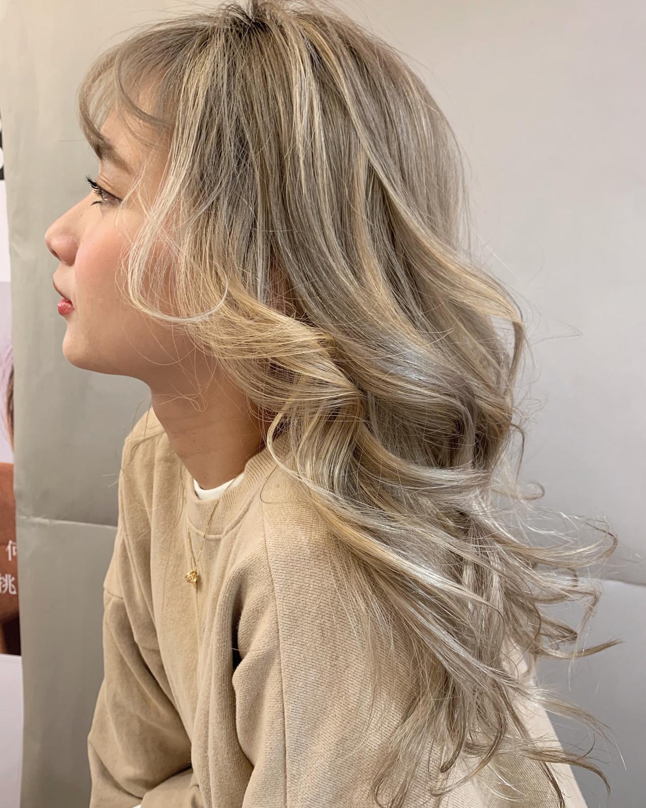 スポーツ デート ロング オフィス ヘアスタイルや髪型の写真・画像 | 安永怜 / kakimotoarms田園調布