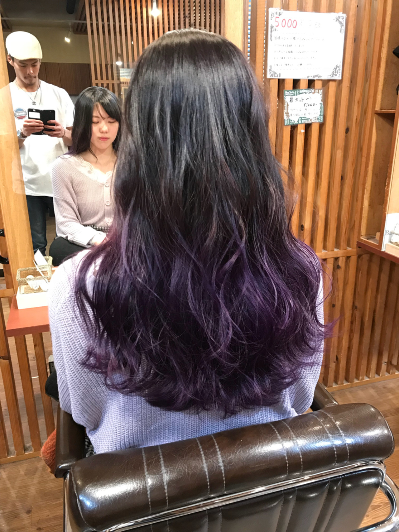 ガーリー 外国人風カラー ハイライト ロングヘアスタイルや髪型の写真・画像