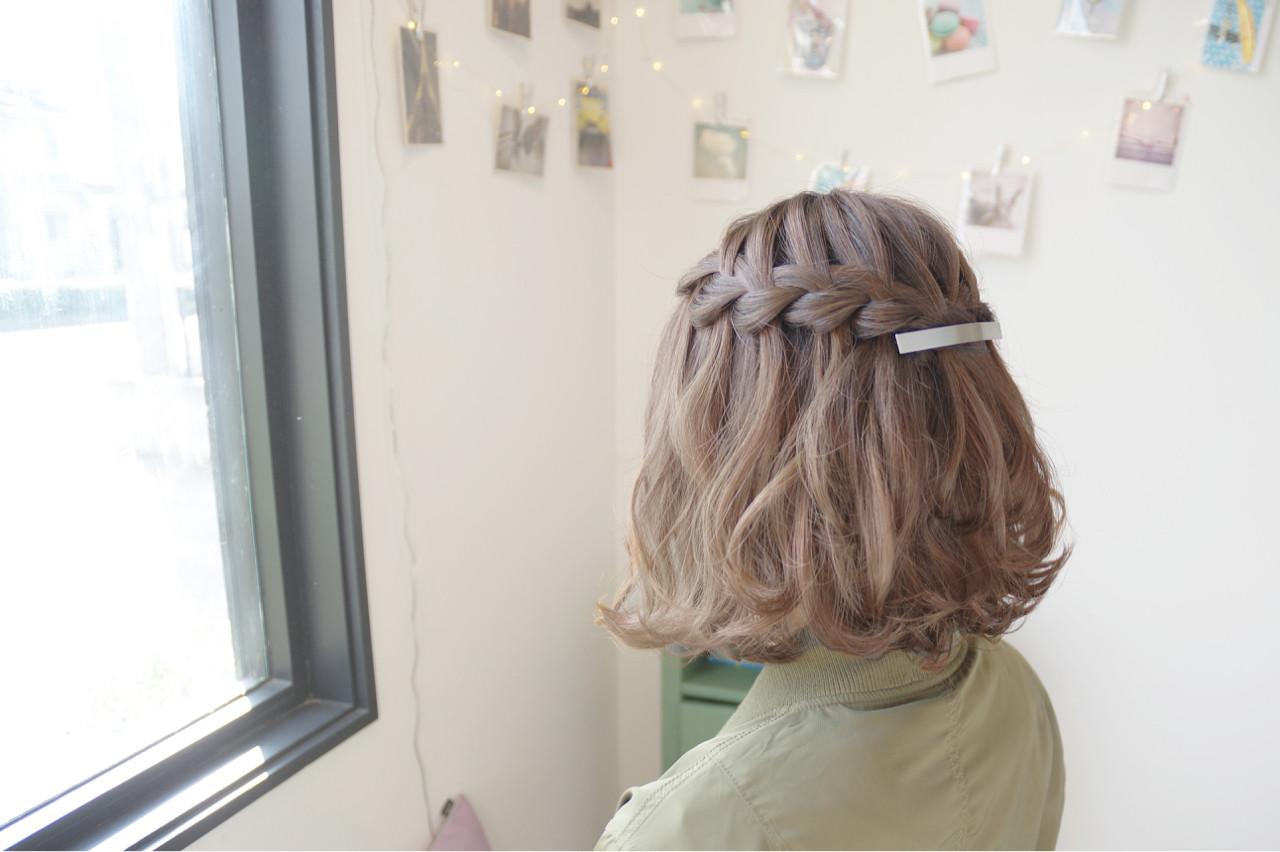 結婚式 ヘアアレンジ 色気 二次会 ヘアスタイルや髪型の写真・画像 | 鳥越 ありさ / hair…nail  TLABeS