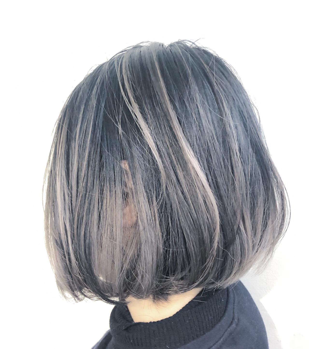 ナチュラル ハイライト バレイヤージュ グラデーションカラー ヘアスタイルや髪型の写真・画像 | RUMINA //高田ゆみこ / Rumina