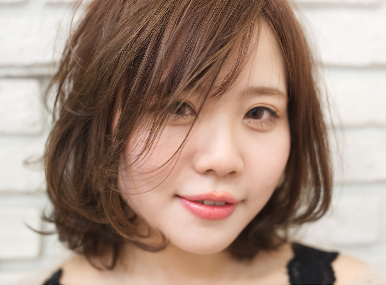 ウェーブ ミディアム 3Dカラー 女子力 ヘアスタイルや髪型の写真・画像   山本真也 /  Mairo Hair
