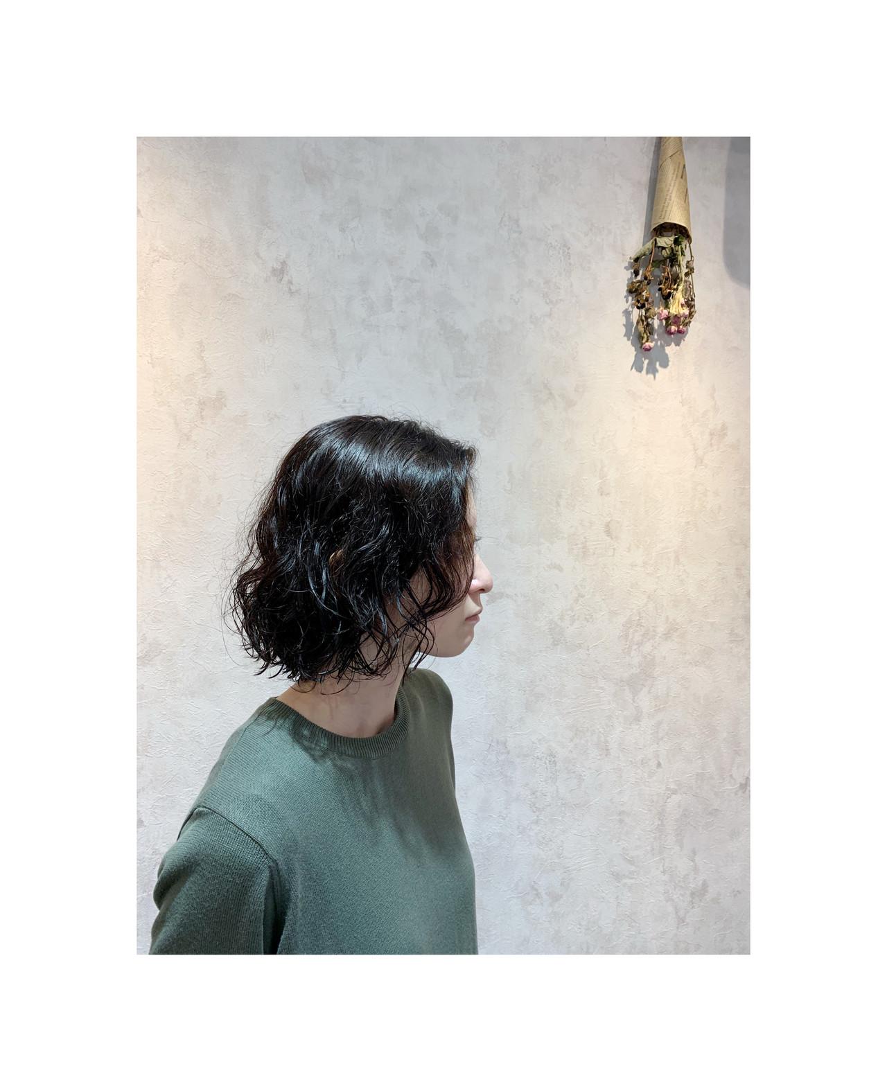 ナチュラル ボブ 小顔ショート ヘアスタイルや髪型の写真・画像 | 角谷 崇 / hair  Cou Cou
