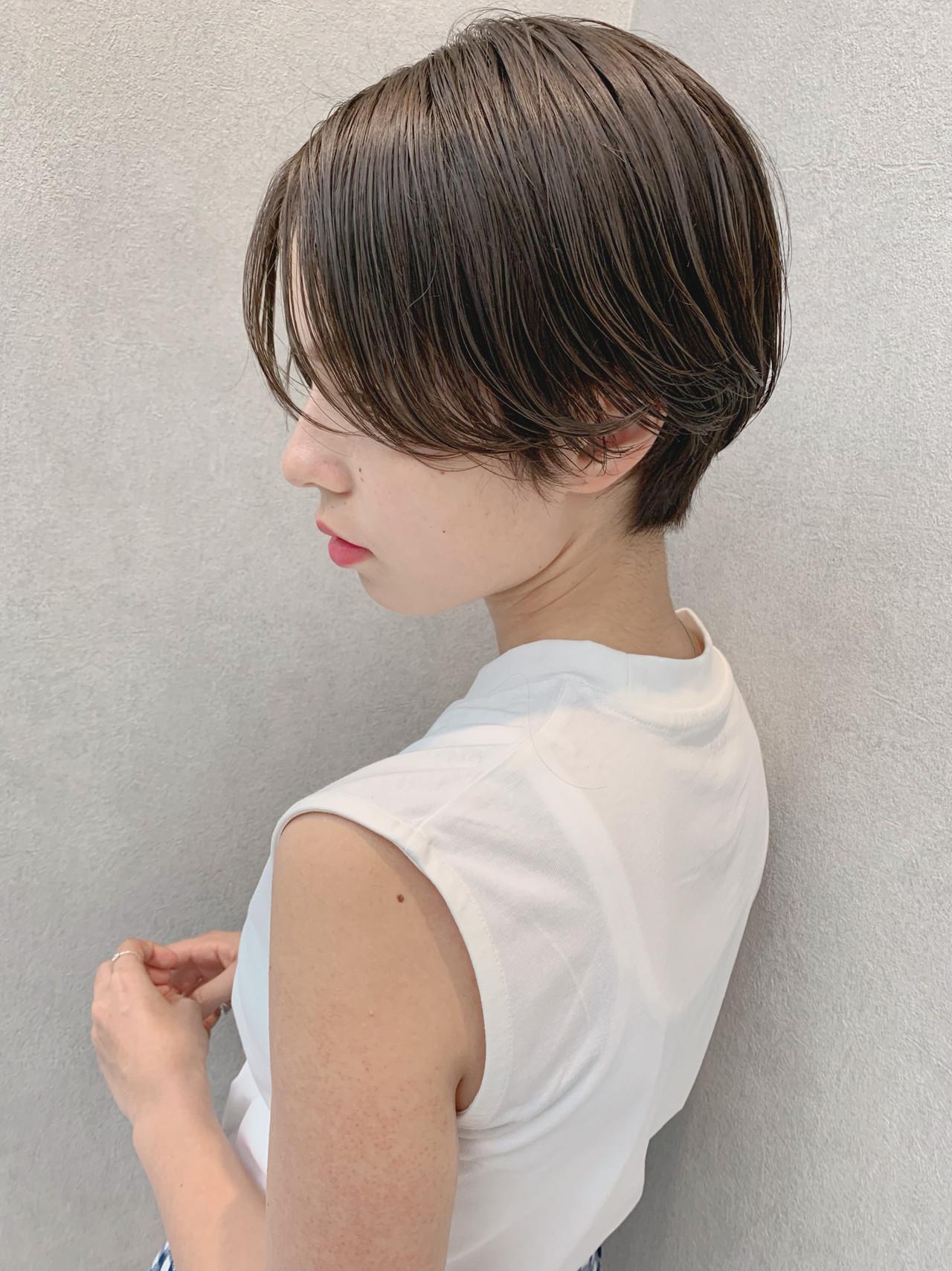 簡単ヘアアレンジ ヘアアレンジ 大人ショート スポーツヘアスタイルや髪型の写真・画像