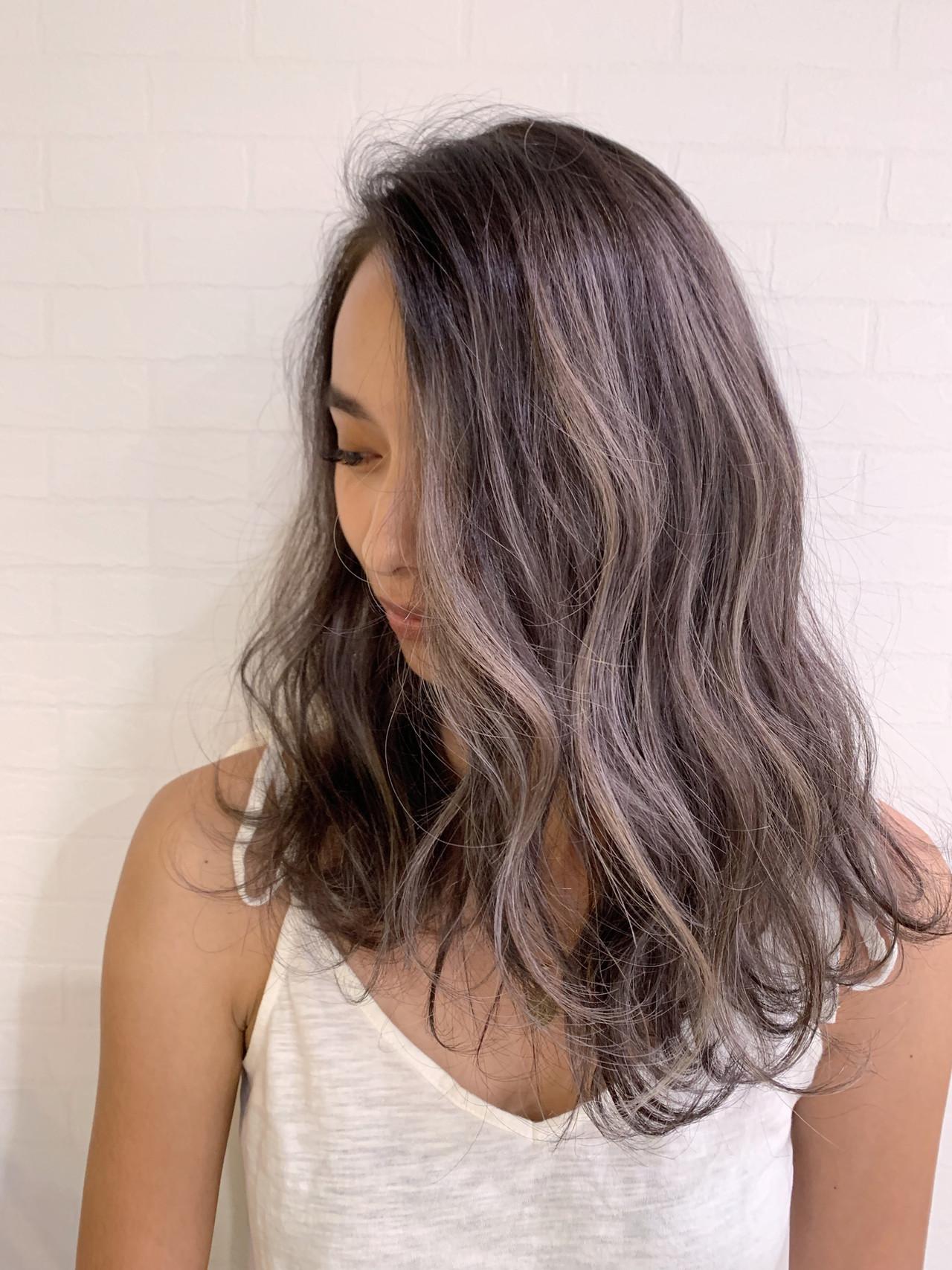 ヘアアレンジ ナチュラル 成人式 ハイライト ヘアスタイルや髪型の写真・画像 | 寺坂 雄飛 / banks hair