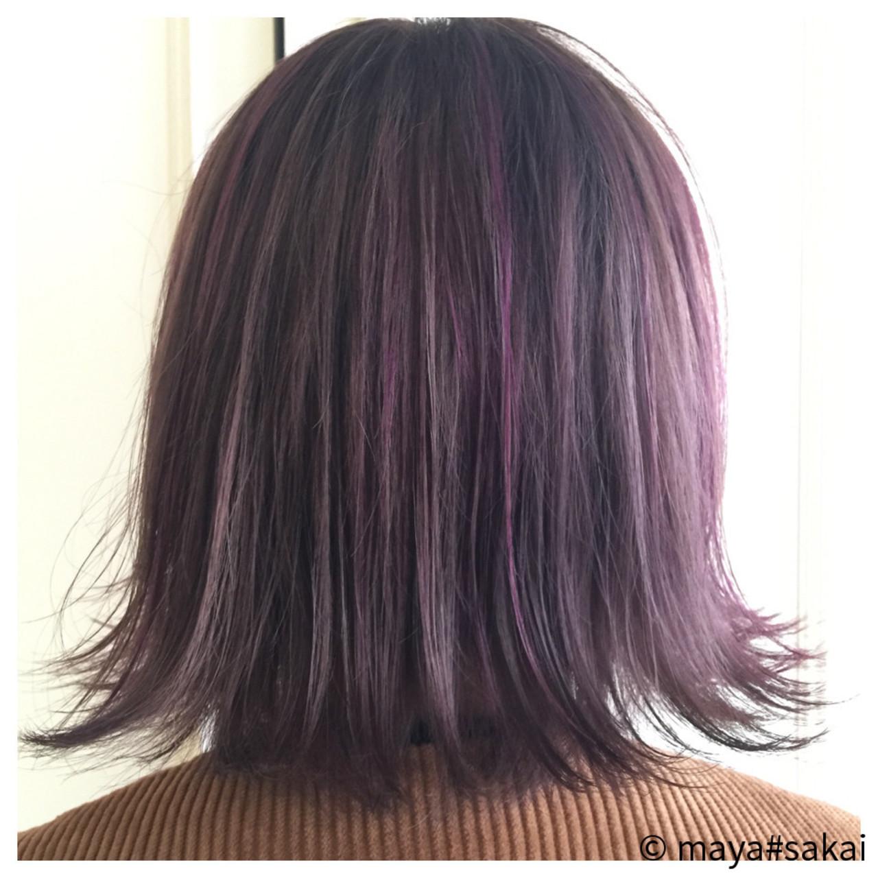 ラベンダーアッシュなあなたの髪色を旬に♪うっとり色落ちを楽しもう maya#sakai / R.rover by H