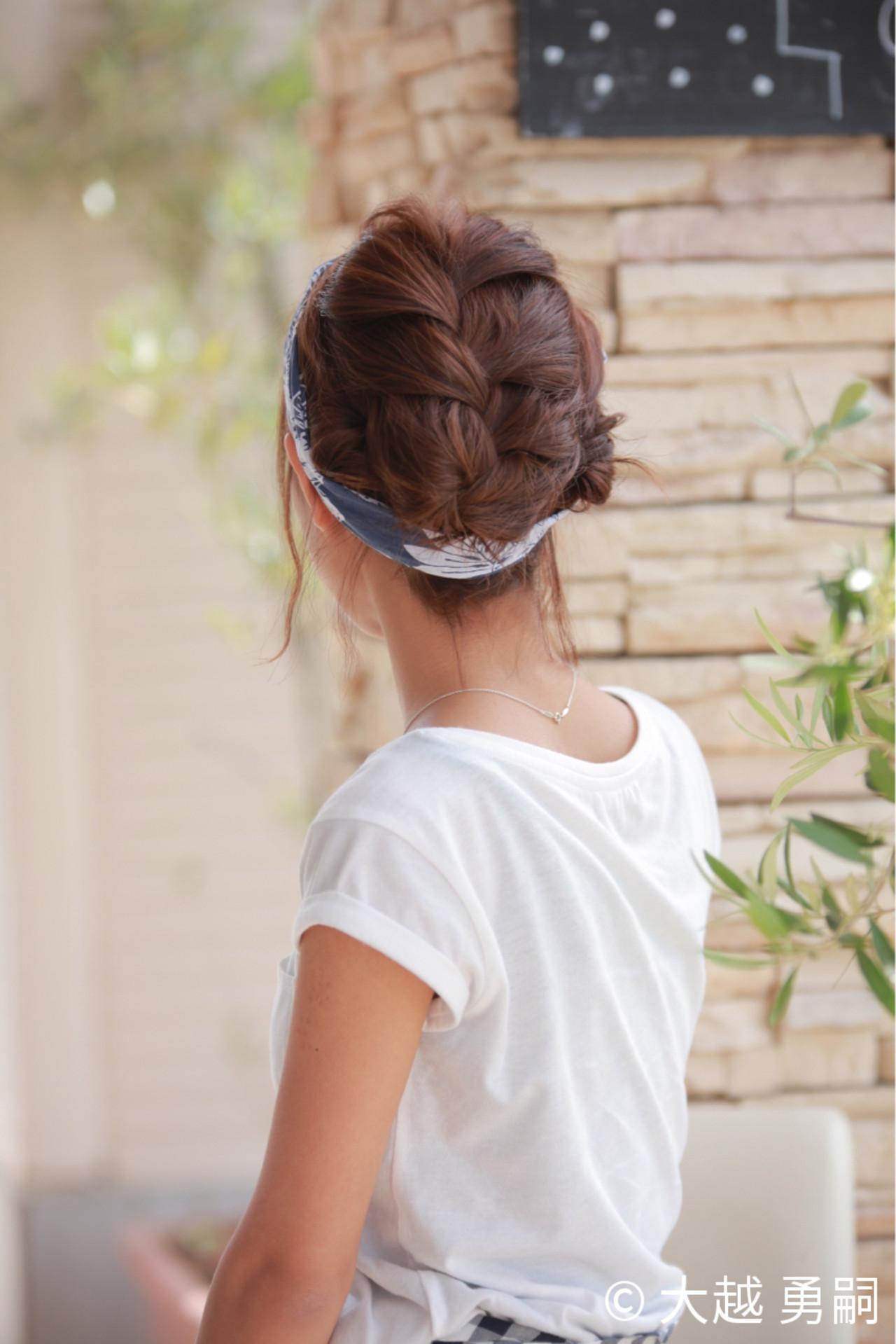 ショート 簡単ヘアアレンジ ガーリー ヘアアレンジ ヘアスタイルや髪型の写真・画像   大越 勇嗣 / VISAGE Oak