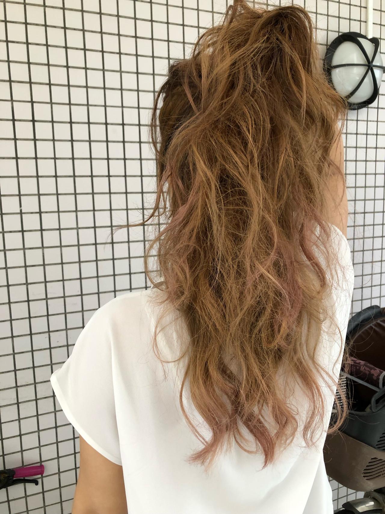 ピンクアッシュ ストリート デート 外国人風カラー ヘアスタイルや髪型の写真・画像 | TMe hair/tomoe chiba / TMe hair川崎小田