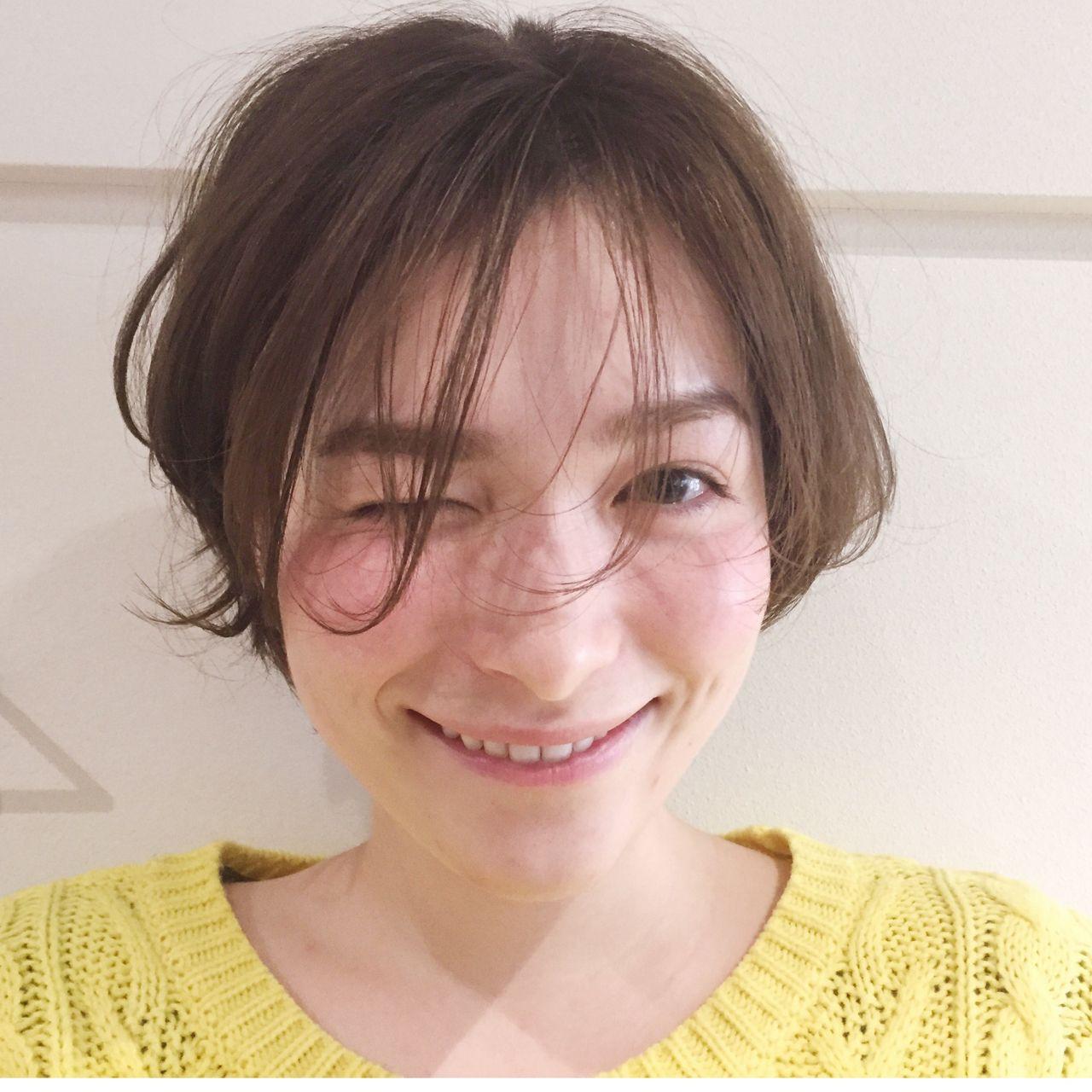 """おしゃれさんが選ぶのは、やっぱり""""暗髪""""♡ YAMASHITA / nanuk"""