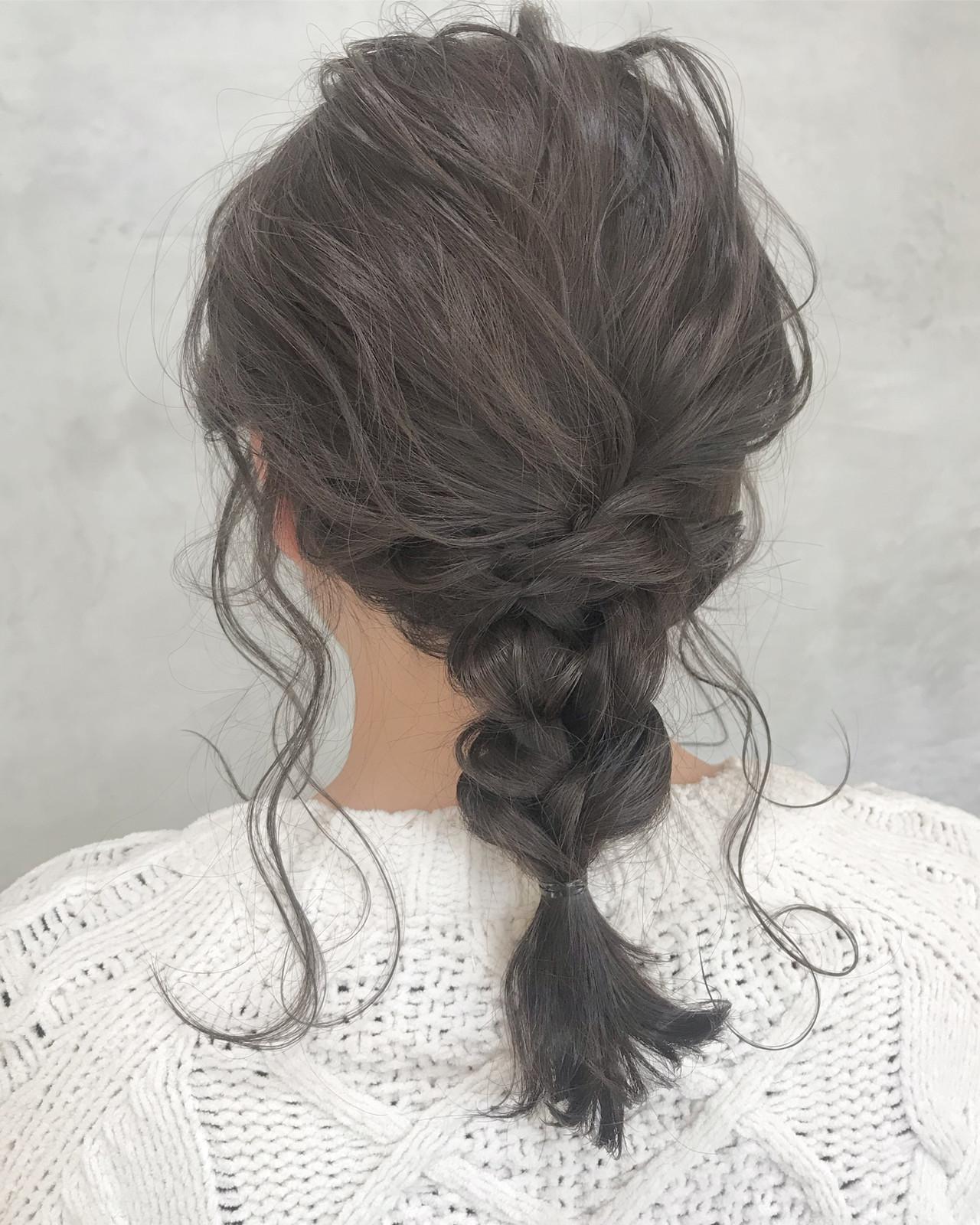 簡単ヘアアレンジ 結婚式 エレガント ヘアアレンジヘアスタイルや髪型の写真・画像