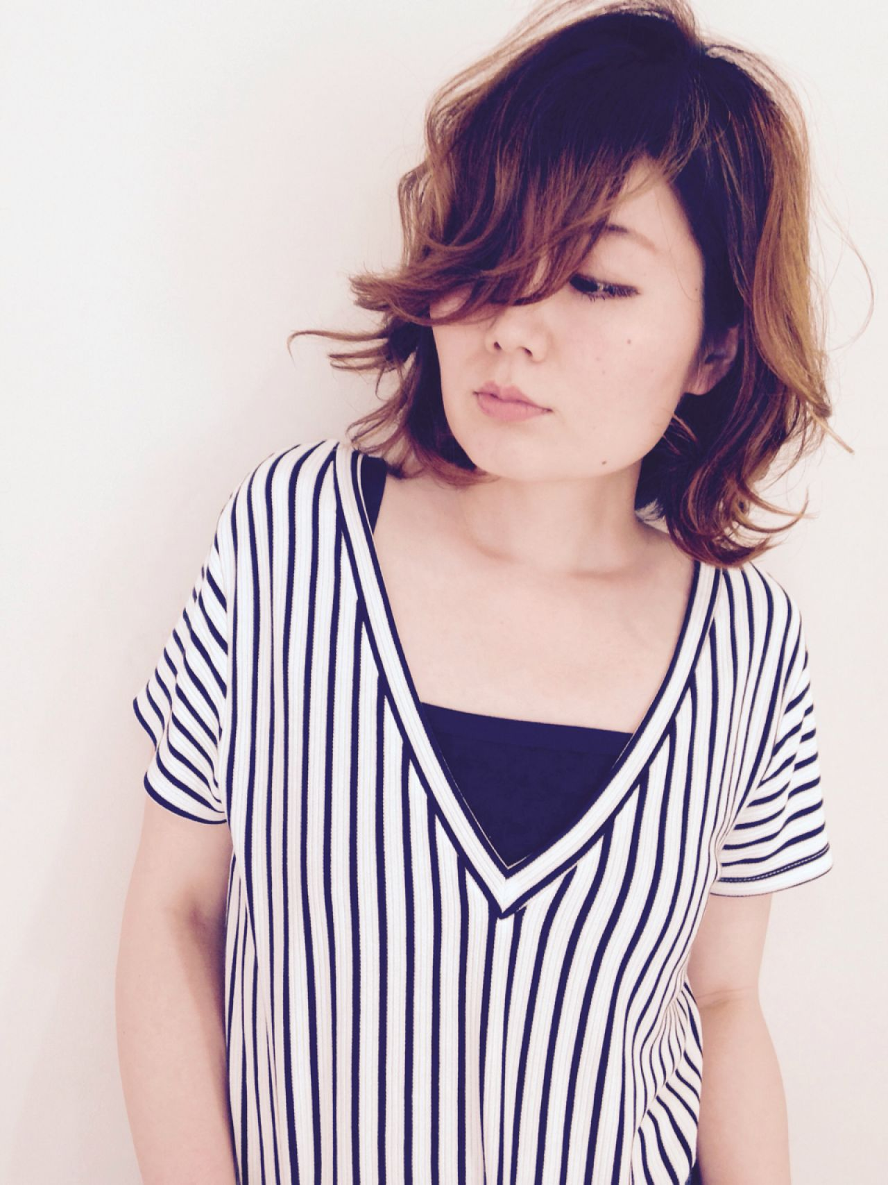 モテ髪 パンク コンサバ 愛され ヘアスタイルや髪型の写真・画像 | Di-KA HAIR JYUMONJI / Di-KA HAIR