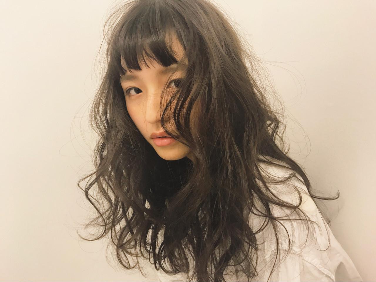 前髪あり ロング 外国人風 ナチュラル ヘアスタイルや髪型の写真・画像 | 【SHIMA】モチナガヤスヒロ / SHIMA daikanyama