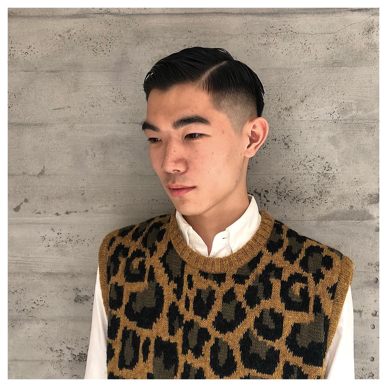 メンズ 大学生 ナチュラル ショートヘアスタイルや髪型の写真・画像
