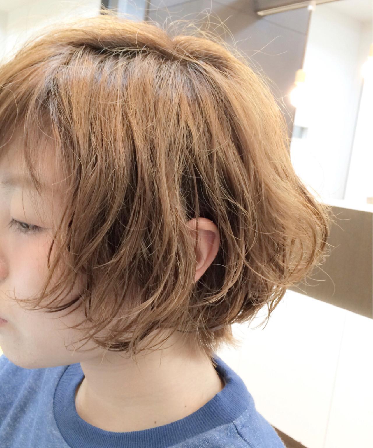 ショートボブ ショート 小顔 かわいいヘアスタイルや髪型の写真・画像