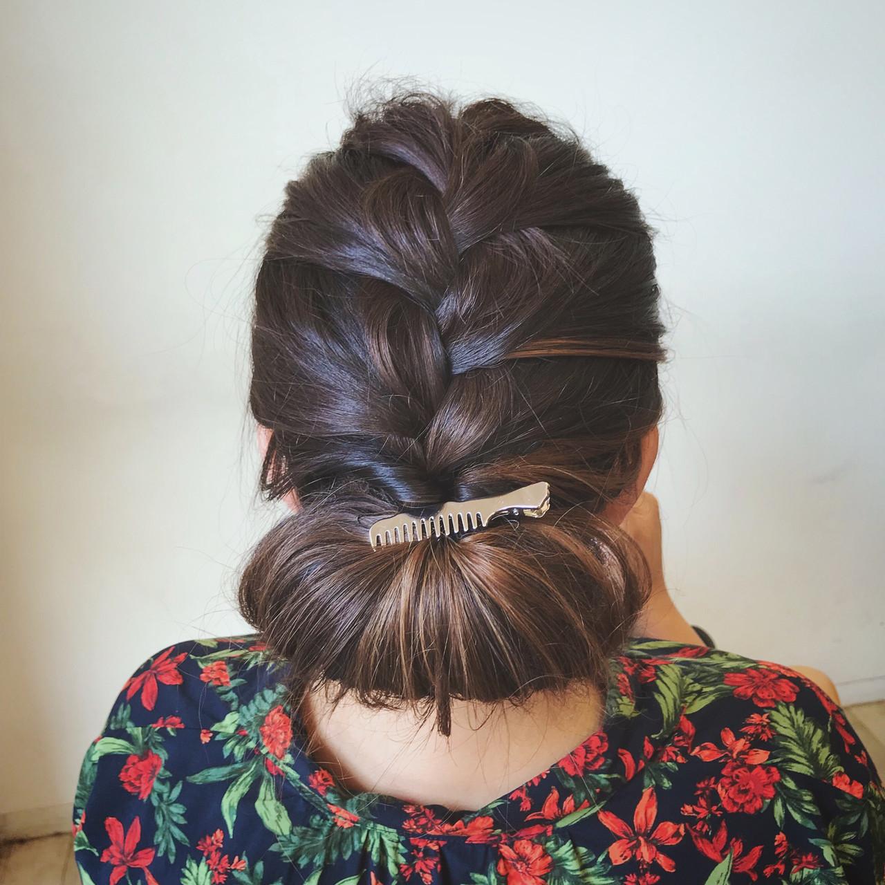 大人可愛い セミロング 結婚式 エレガント ヘアスタイルや髪型の写真・画像 | 石井 美那 / BERAg hair