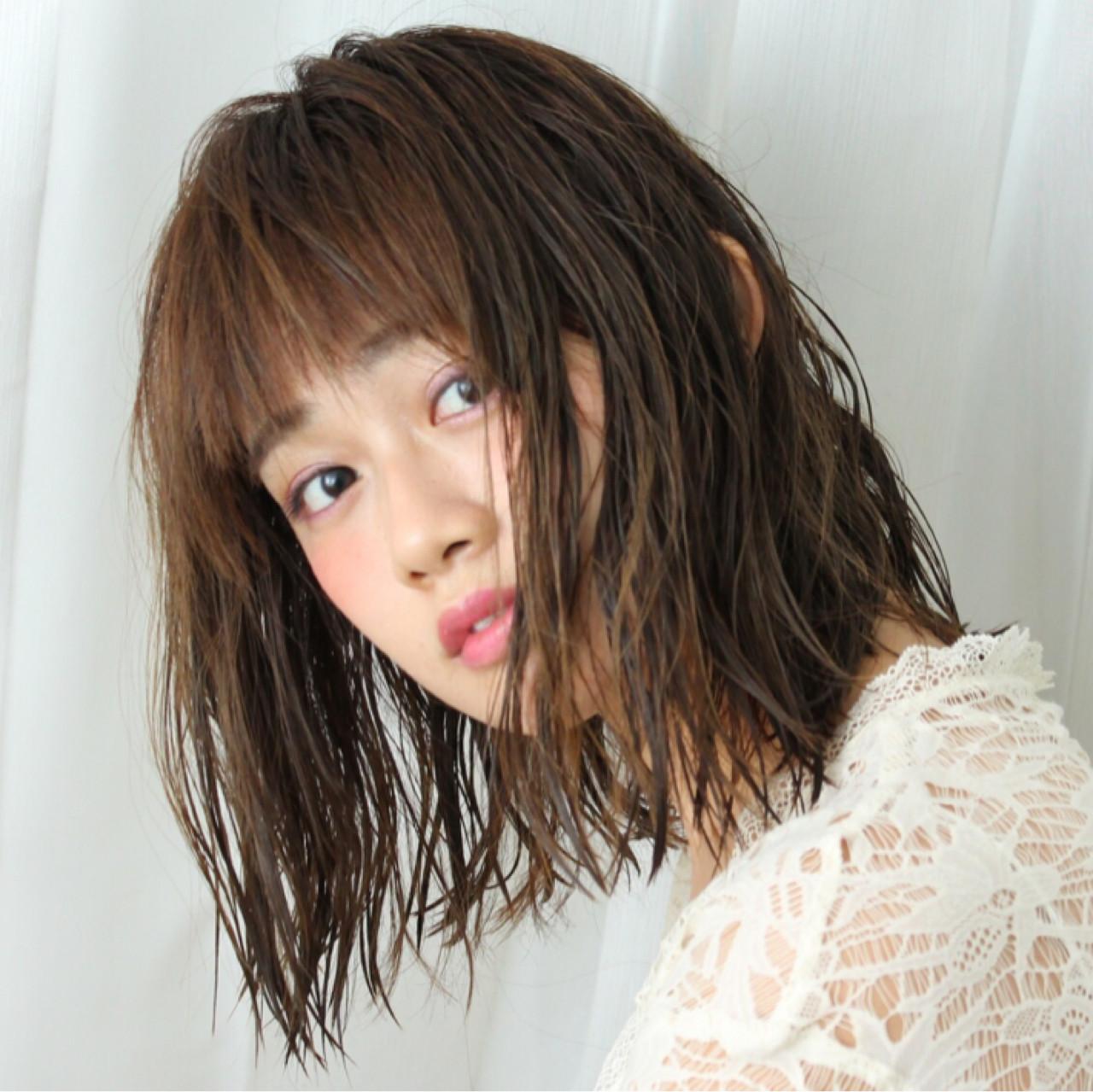 ナチュラル 色気 こなれ感 大人かわいい ヘアスタイルや髪型の写真・画像 | 西村麻子 / MASHU Atoro