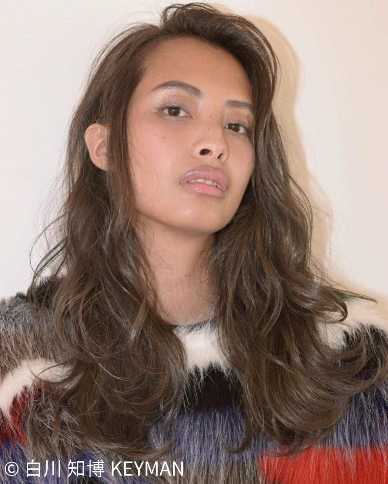 秋 デート 透明感 冬 ヘアスタイルや髪型の写真・画像 | 白川 知博 / KEYMAN