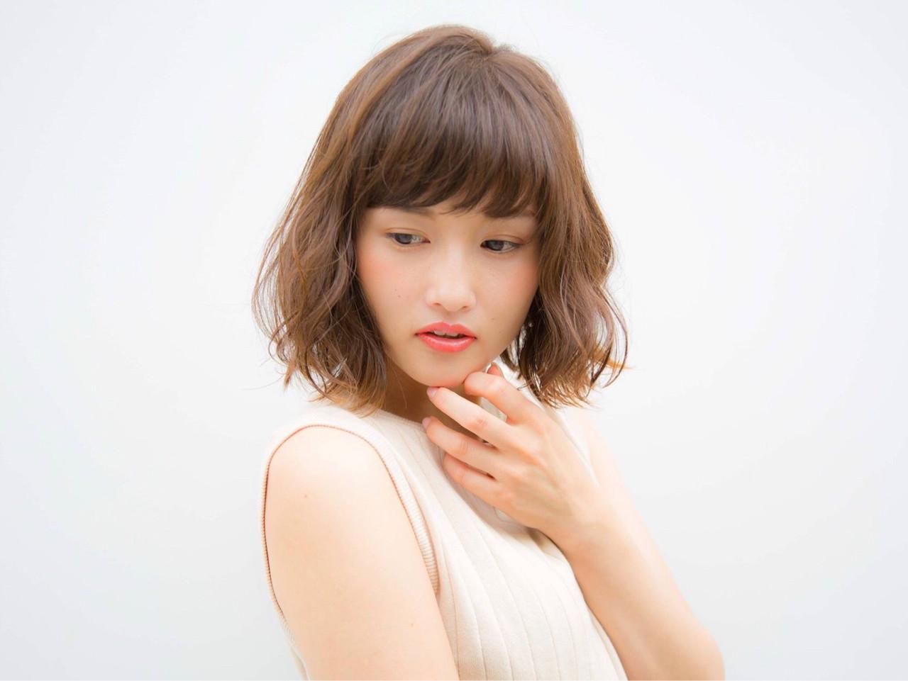 透明感 秋 オフィス ナチュラル ヘアスタイルや髪型の写真・画像 | 野﨑 小知子 / CACINA TOKYO