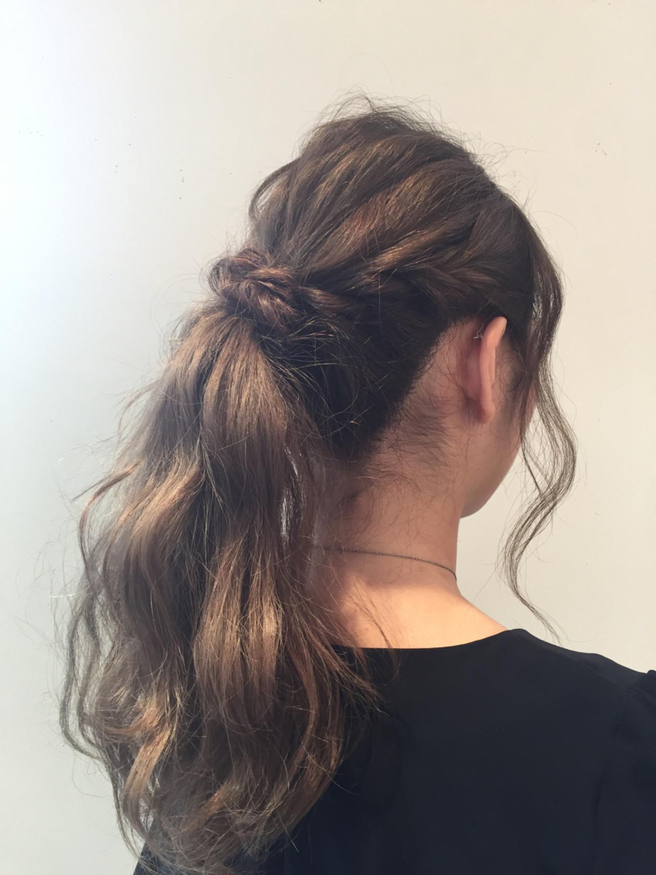 アンニュイ リラックス ウェーブ デート ヘアスタイルや髪型の写真・画像 | 酒井麻由加 / reginalore