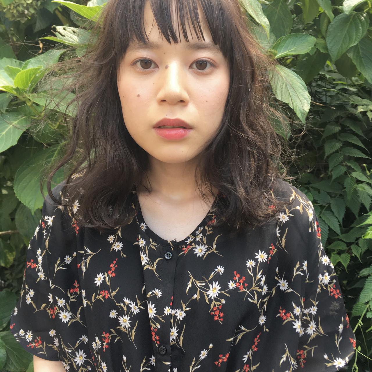 外国人風 小顔 ニュアンス ナチュラル ヘアスタイルや髪型の写真・画像 | 日野 達也 / GO TODAY  SHAiRE SALON