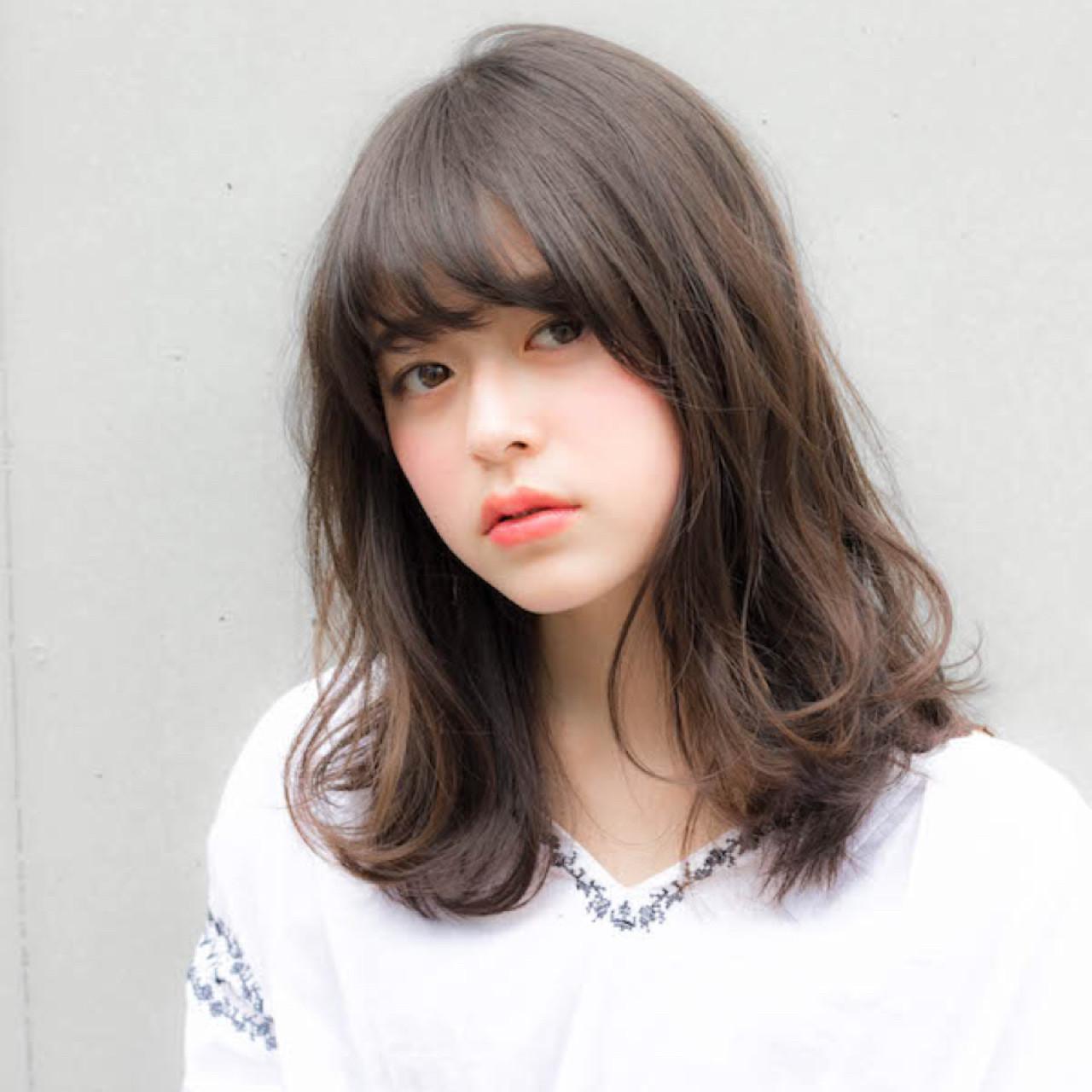 前髪あり グレージュ ゆるふわ 抜け感 ヘアスタイルや髪型の写真・画像 | 竹澤 優/relian青山Top stylist / relian青山