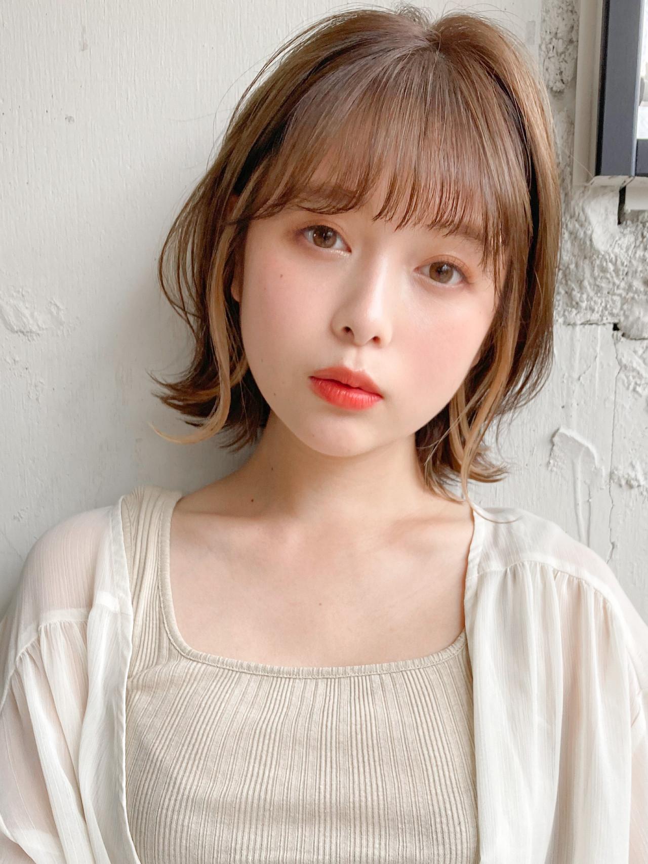 ヘアアレンジ ハンサムショート 似合わせカット 前髪ありヘアスタイルや髪型の写真・画像