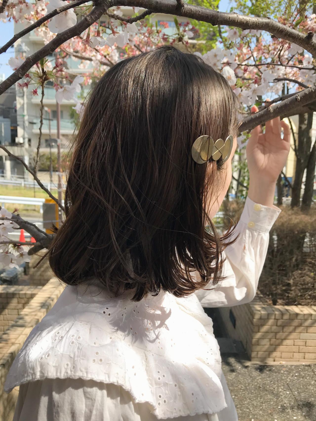 ヘアアレンジ 大人かわいい パーマ ハイライト ヘアスタイルや髪型の写真・画像 | 小西敬二郎 / Heartim