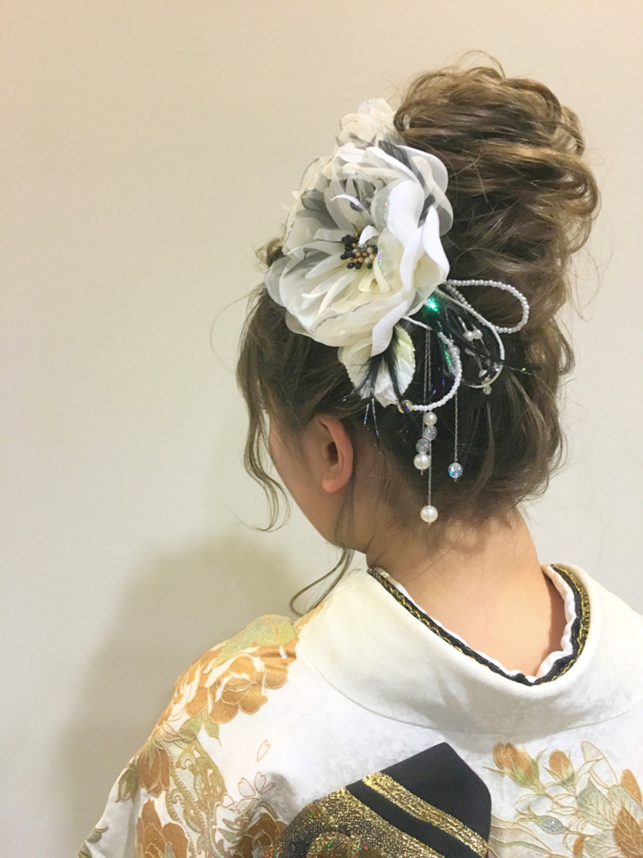 ヘアアレンジ セミロングヘアスタイルや髪型の写真・画像