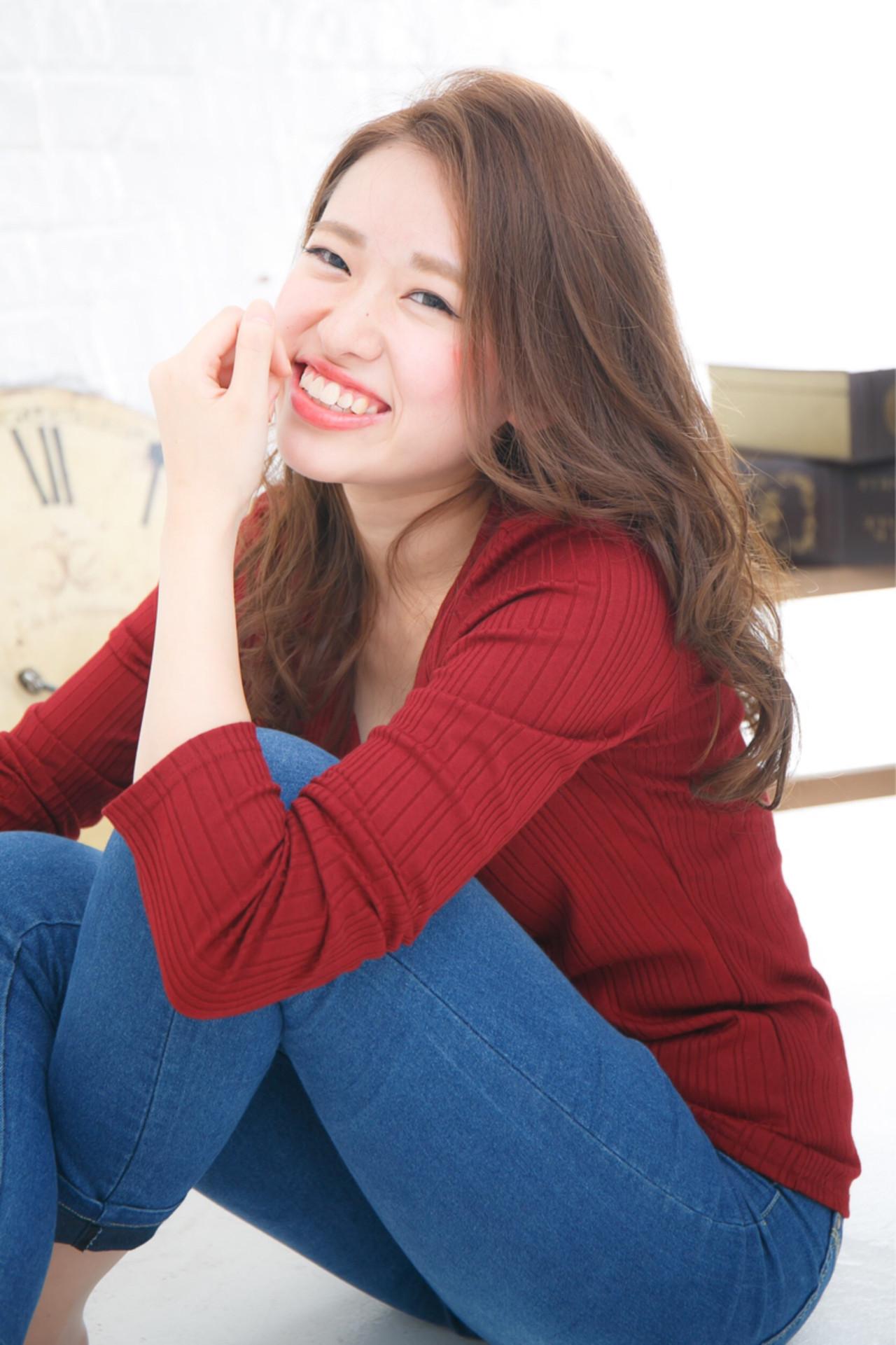 大人かわいい アッシュ フェミニン ストリート ヘアスタイルや髪型の写真・画像 | Yurina /