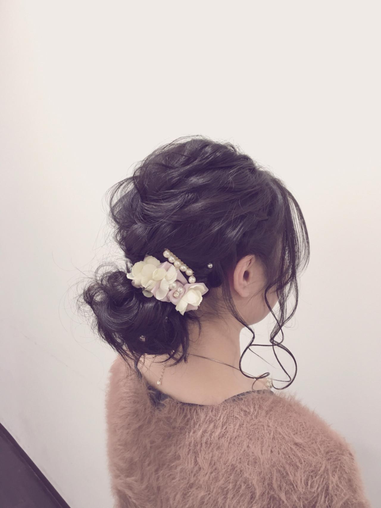 フェミニン 外国人風 ショート ミディアムヘアスタイルや髪型の写真・画像