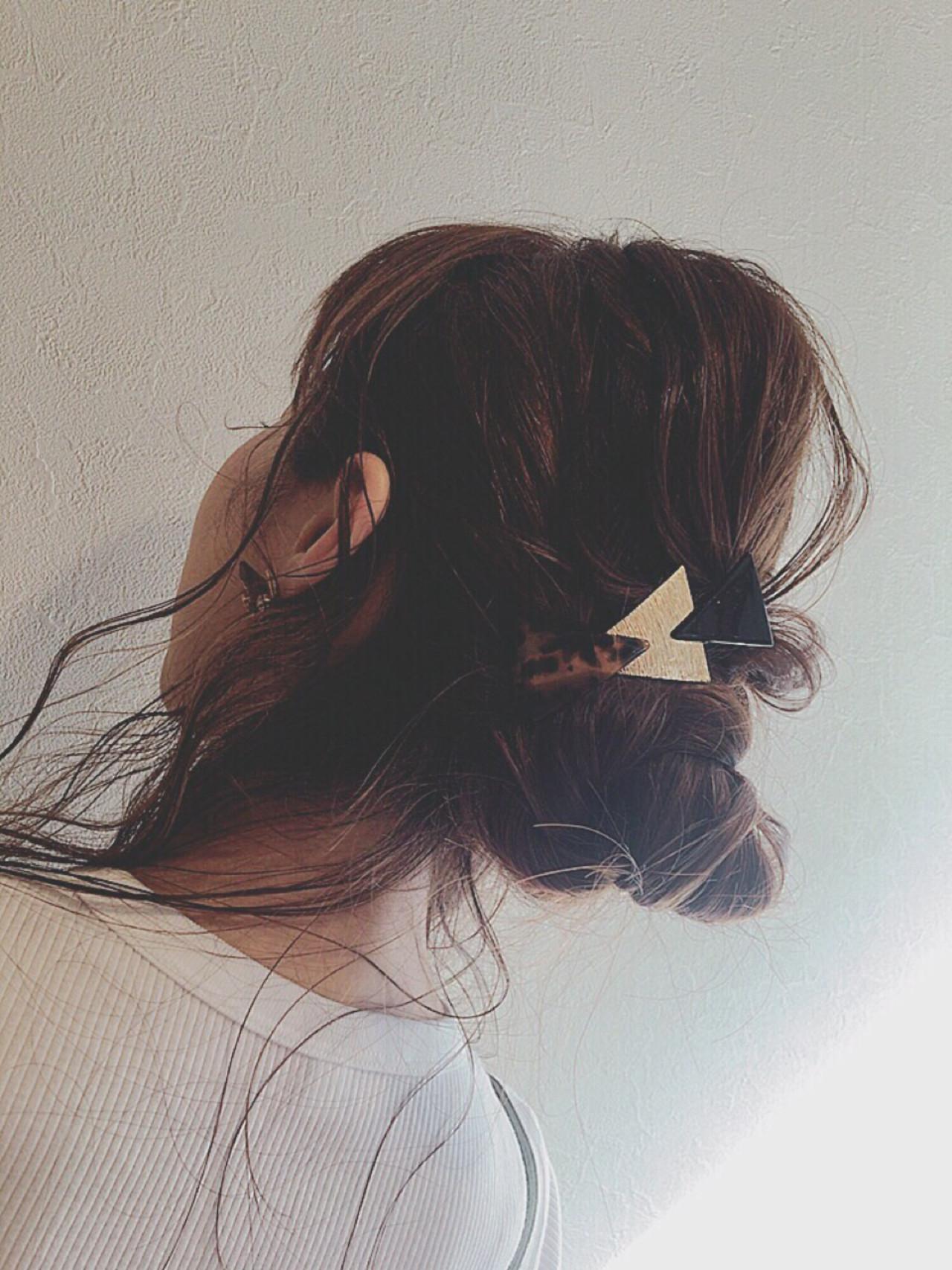 ハイライト セミロング ショート ヘアアレンジ ヘアスタイルや髪型の写真・画像   uchida ayano / enn