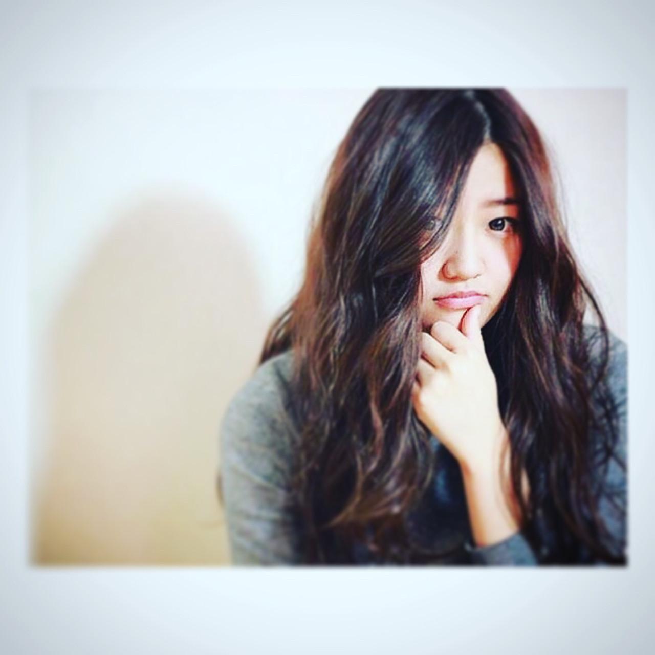 外国人風 大人かわいい フェミニン ロング ヘアスタイルや髪型の写真・画像 | 広瀬 丈彰 / W