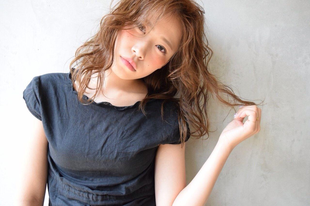 愛され フェミニン モテ髪 大人女子 ヘアスタイルや髪型の写真・画像 | 野村 麻美 /