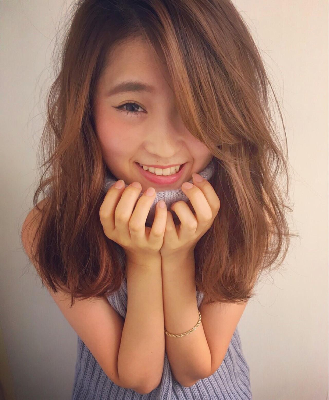 外国人風 ゆるふわ フェミニン 大人かわいい ヘアスタイルや髪型の写真・画像 | yuki /