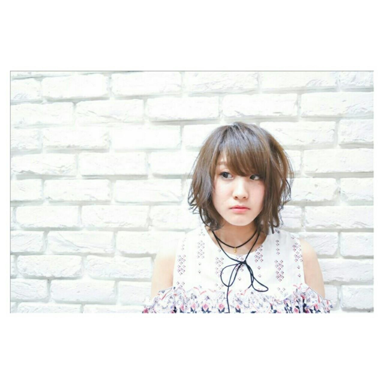 ショート ゆるふわ ガーリー ヘアスタイルや髪型の写真・画像 | Yoshiaki harada / BLOCK hairmake