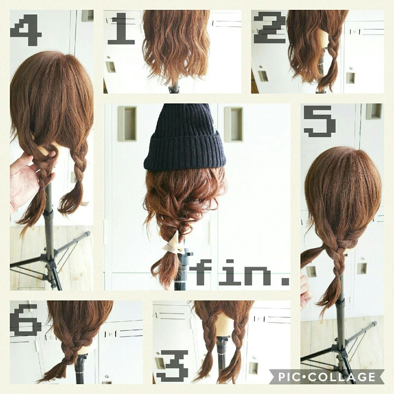 ストリート ミディアム ゆるふわ ヘアアレンジ ヘアスタイルや髪型の写真・画像 | 五嶋治紀 / BORDER.hair