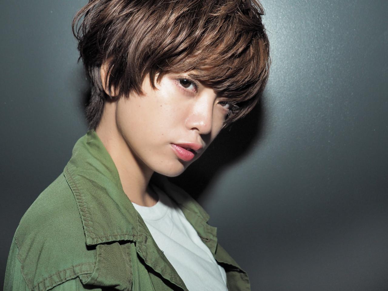 マッシュ ショート 小顔 ストリート ヘアスタイルや髪型の写真・画像 | Keiichi Suzuki/鈴木圭一 / CALVINA&LOWE
