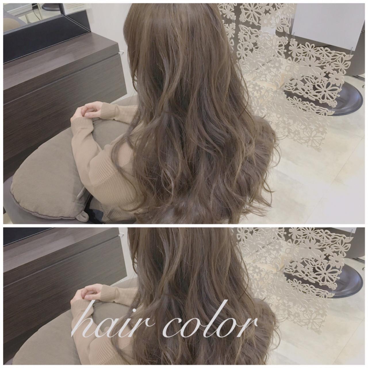 外国人風 ロング パーマ ゆるふわ ヘアスタイルや髪型の写真・画像 | maru / papadoo matsumotoshop