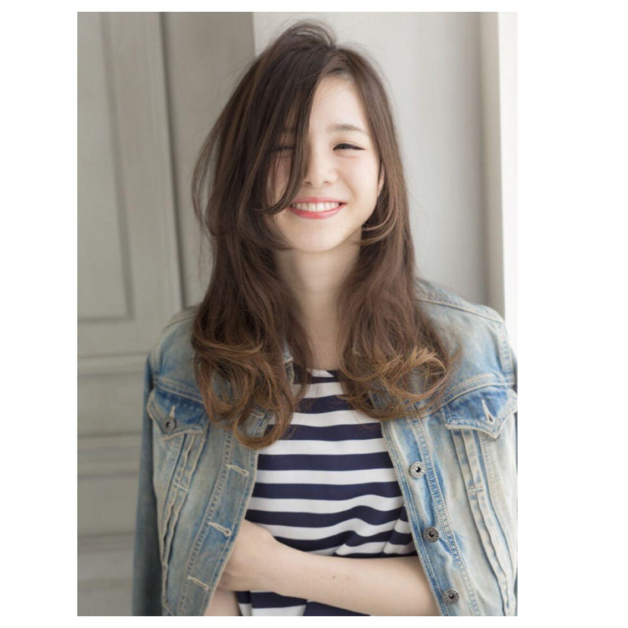 ロング コンサバ パンク 春 ヘアスタイルや髪型の写真・画像 | ゆう /